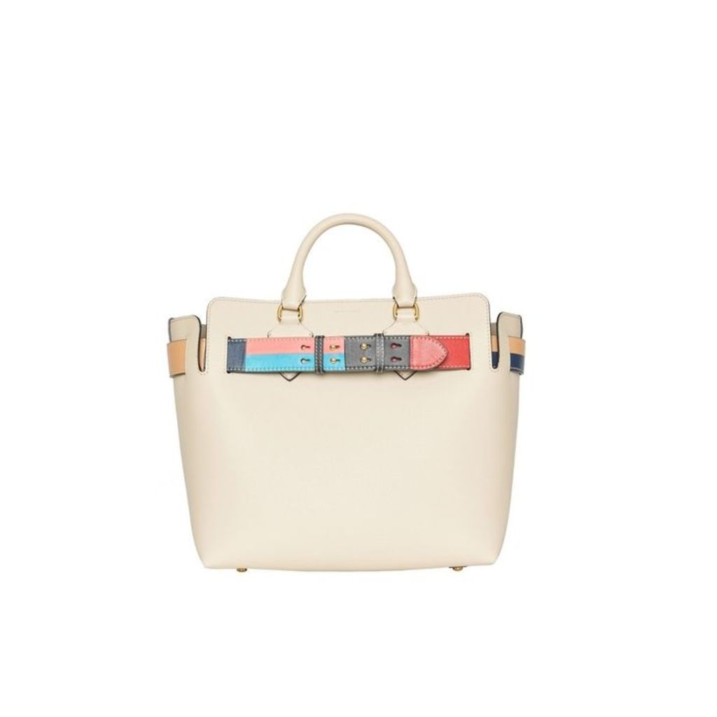 Burberry The Medium Leather Colour Block Detail Belt Bag