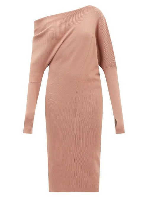 Le Kilt - Pleated 65cm Tartan Wool Kilt - Womens - Red Multi