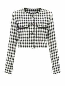 Marni - Floral Print Cotton Poplin Midi Skirt - Womens - Pink Multi