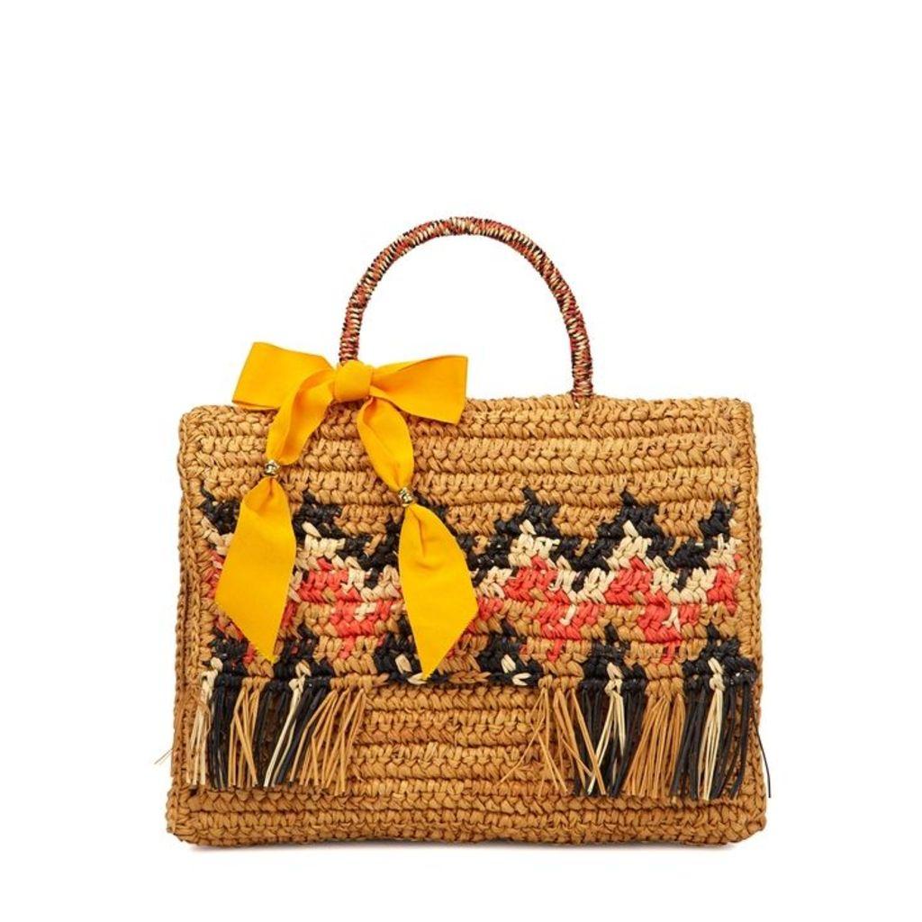 Sensi Studio La Cartera Straw Tote Bag
