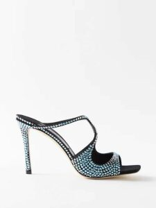 Sea - Deja Tie Front Denim Skirt - Womens - Denim