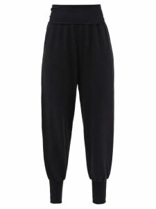 Le Kilt - Pleated 72cm Tartan Wool Kilt - Womens - Navy Multi