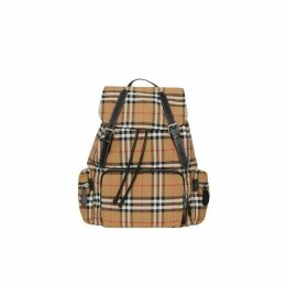 Burberry The Large Rucksack In Vintage Check Nylon