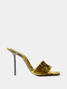 Mary Katrantzou - Perfume Bottle Print Satin Mini Dress - Womens - Black Multi