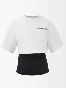 Erdem - Serafina Fassett Dream Print Silk Midi Dress - Womens - Blue Multi