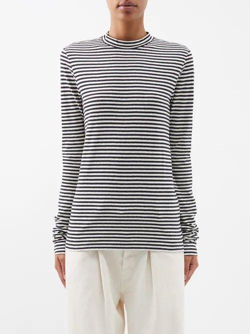 Valentino - Bandana Print Silk Dress - Womens - Red Multi
