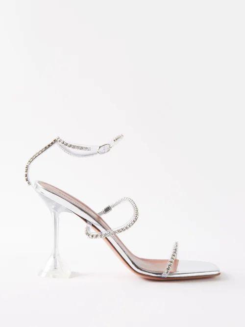 Emilia Wickstead - Clarisse Crepe Balloon Sleeve Dress - Womens - Pink