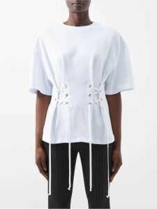 Paco Rabanne - Floral Crochet Dress - Womens - Black