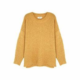 Isabel Marant Étoile Shana Mustard Knitted Jumper