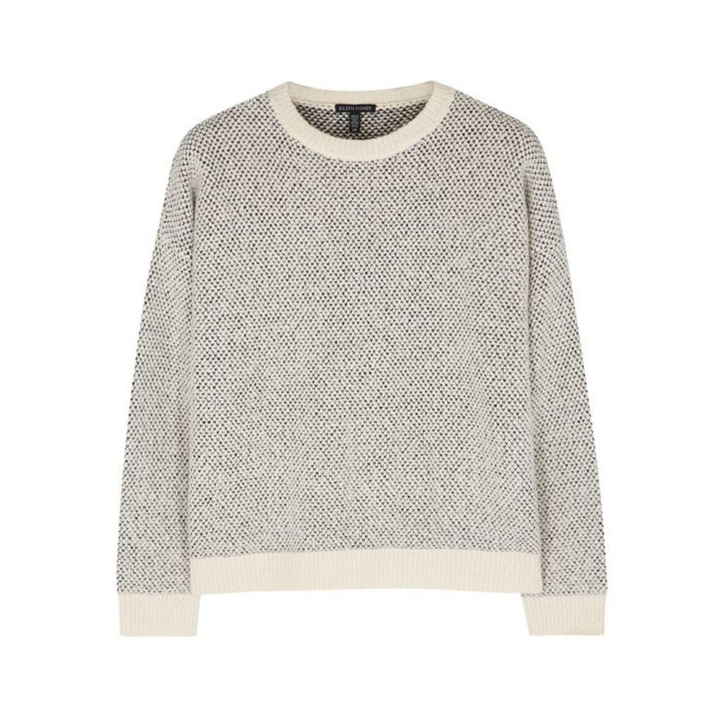 EILEEN FISHER Textured-knit Cotton-blend Jumper
