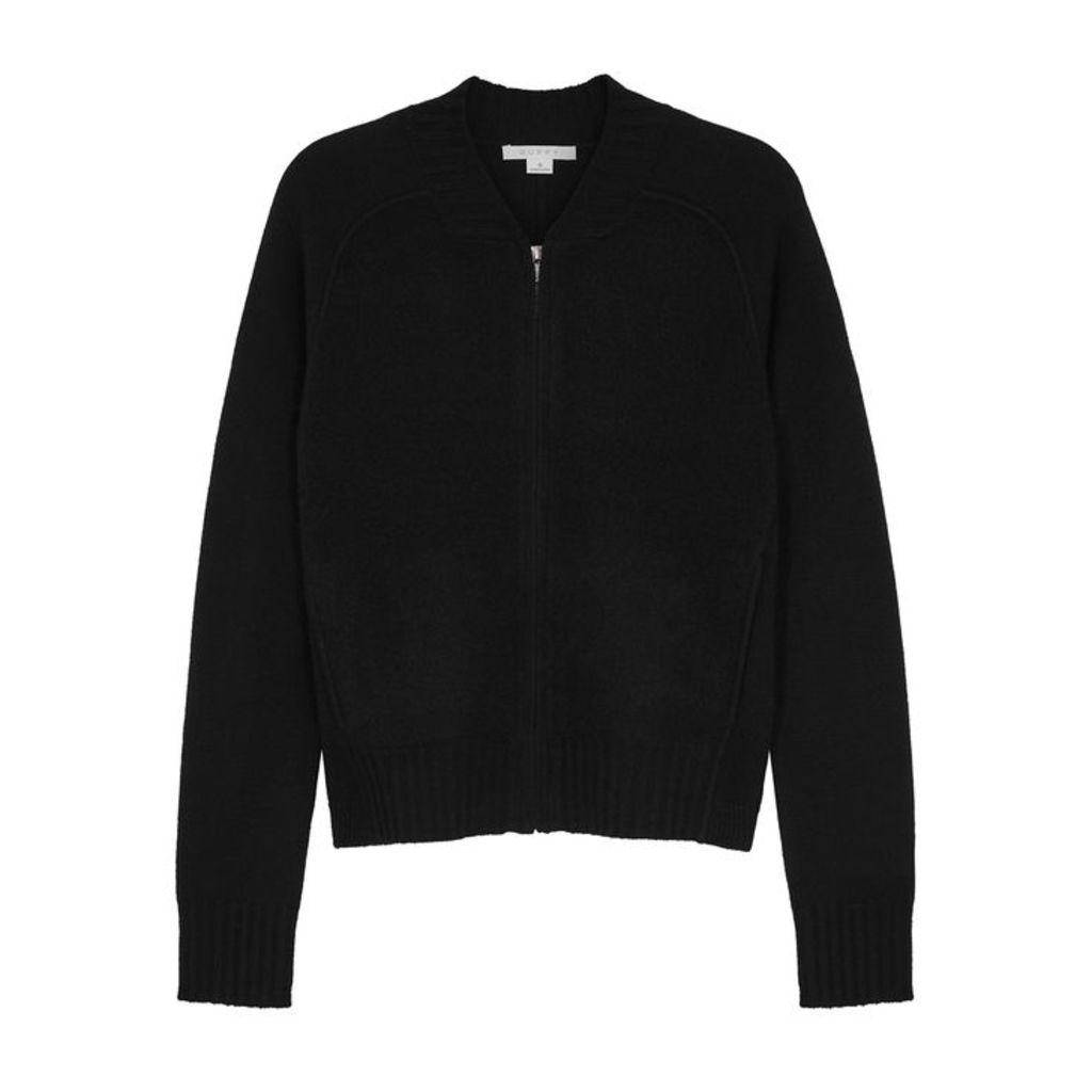 Duffy Black Wool-blend Jumper