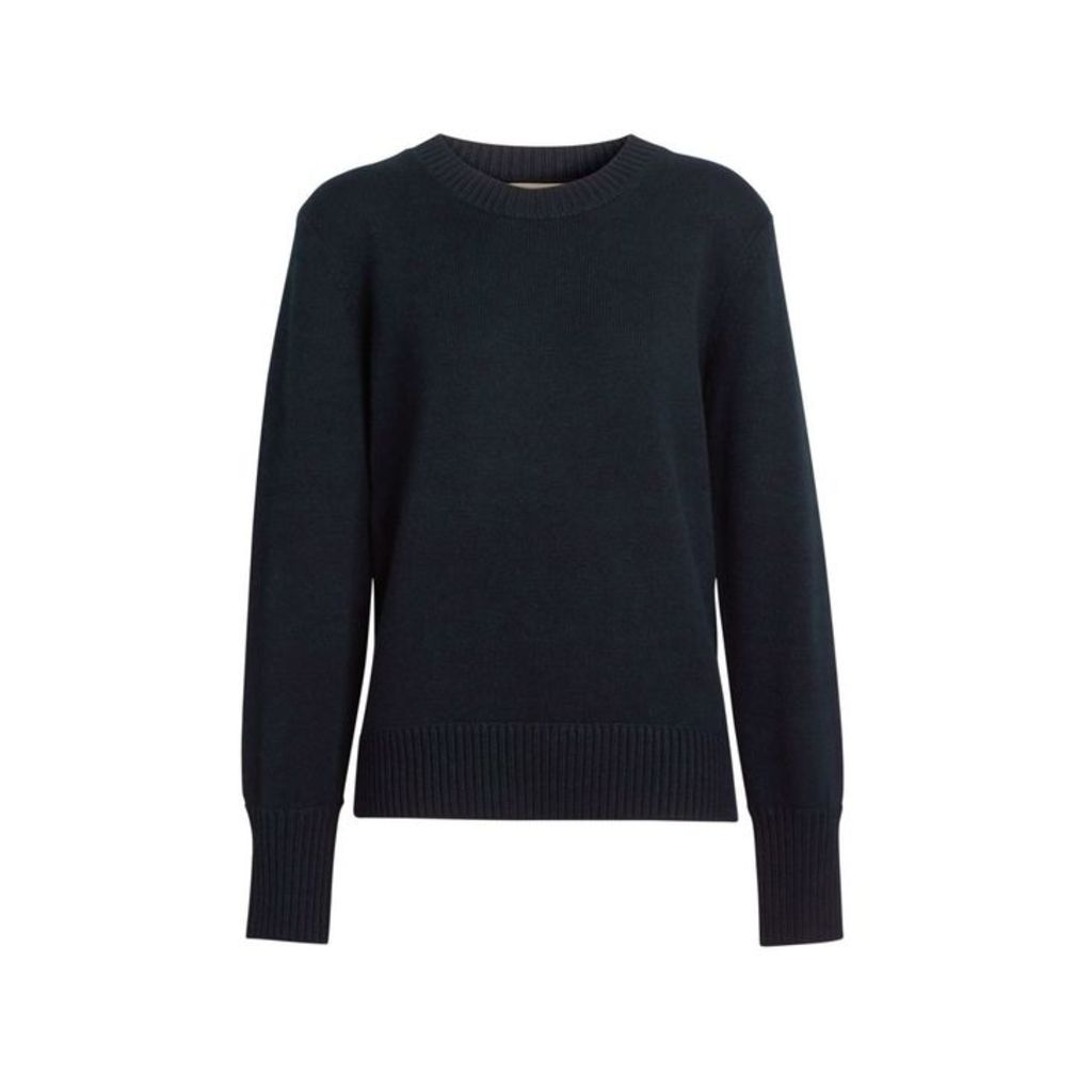 Burberry Archive Logo Applique Cashmere Sweater