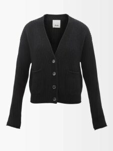 Emilia Wickstead - Ariane High Neck Crepe Midi Dress - Womens - Red
