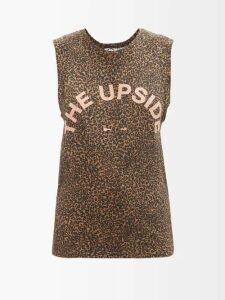 Miu Miu - Cowl Neck Crushed Velvet Dress - Womens - Blue
