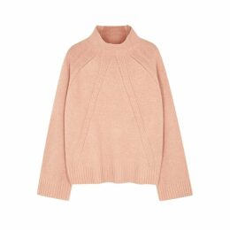 BY MALENE BIRGER Aleyah Blush Wool-blend Jumper