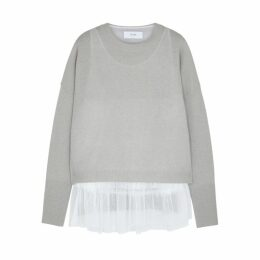 IN. NO Opera Merino Wool-blend Jumper