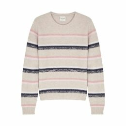 Le Kasha Toucques Striped Cashmere Jumper