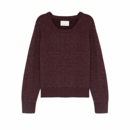 Samsøe & Samsøe Nor O-n Short Alpaca-blend Jumper