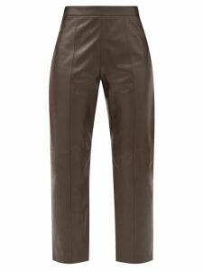 No. 21 - Floral Print Crepe Pencil Skirt - Womens - Black