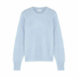 Filippa K Light Blue Mohair-blend Jumper