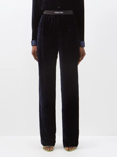 Rochas - Python Print Leather Pencil Skirt - Womens - Multi