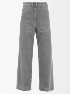 Rochas - Floral Brocade Pencil Skirt - Womens - Pink