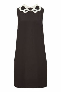 Boutique Moschino Dress with Contrast Round Collar