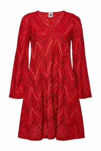 M Missoni Knit Dress with Metallic Thread