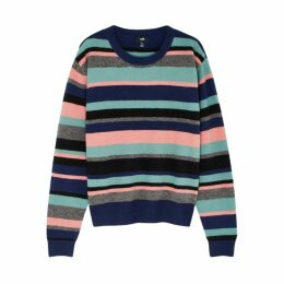 LINE Stephanie Striped Knitted Jumper