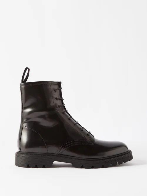 Inès & Maréchal - Elvis Shearling Coat - Womens - Grey