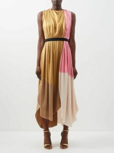 Inès & Maréchal - Elvis Zip Embellished Shearling Coat - Womens - White