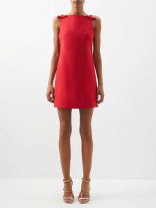 Inès & Maréchal - Elvis Zip Embellished Shearling Coat - Womens - White