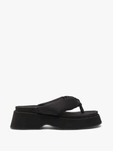 Yves Salomon - Shearling Coat - Womens - Blue