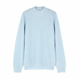 Nanushka Cloud Light Blue Knitted Jumper