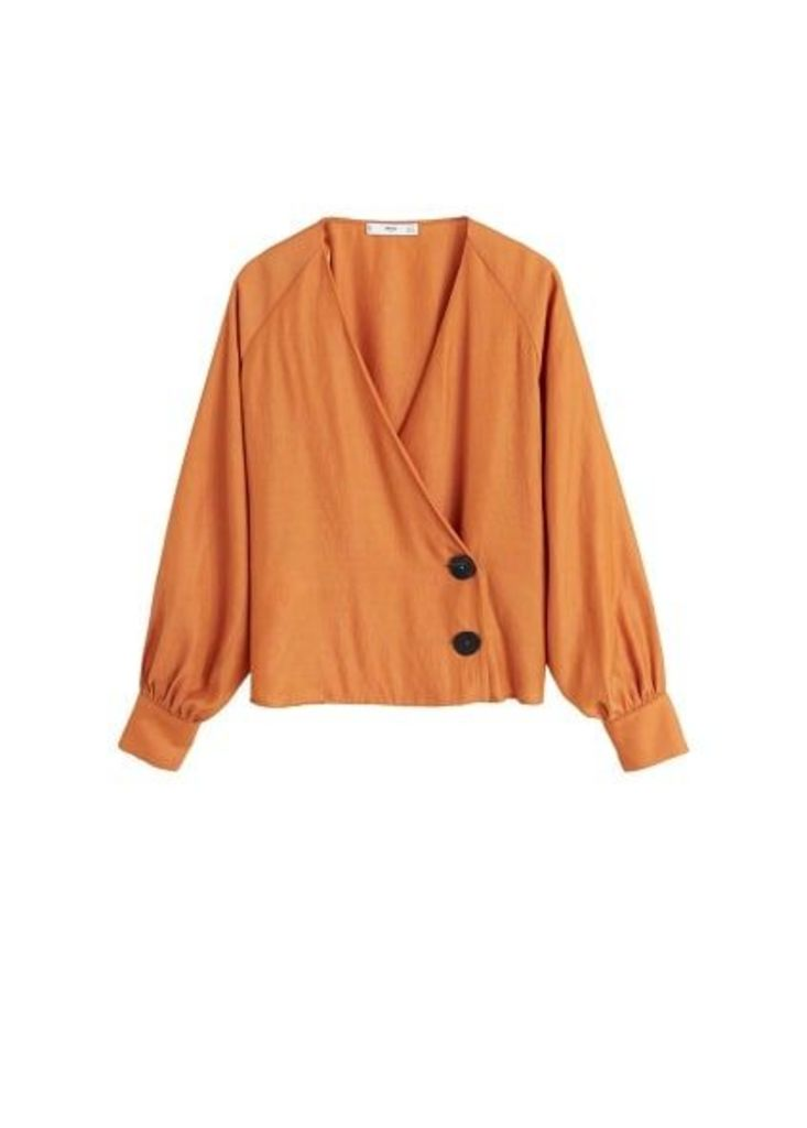Buttons detail blouse