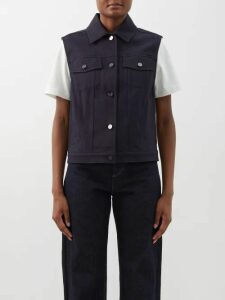 Isabel Marant Étoile - Liila Paisley Print One Shoulder Dress - Womens - Pink Multi