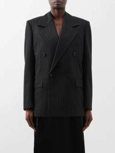 Cefinn - Tie Waist Voile Dress - Womens - Burgundy