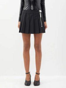 Alexachung - Floral Print Crepe Wrap Dress - Womens - Red