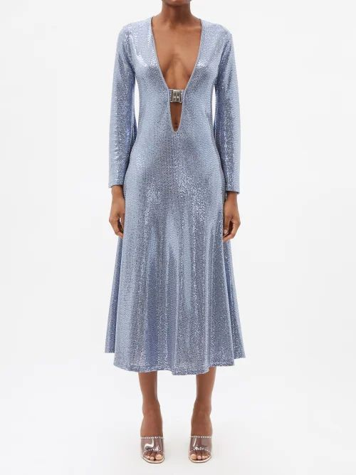 The Vampire's Wife - Festival Gypsy Floral Print Cotton Mini Dress - Womens - Red Print