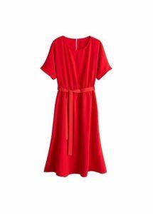 Flowy bow dress