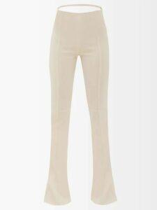 A.p.c. - Shanya Leopard Print Mini Skirt - Womens - Leopard