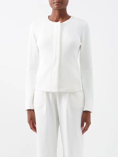 Le Kilt - Pleated 47cm Wool Kilt - Womens - Black