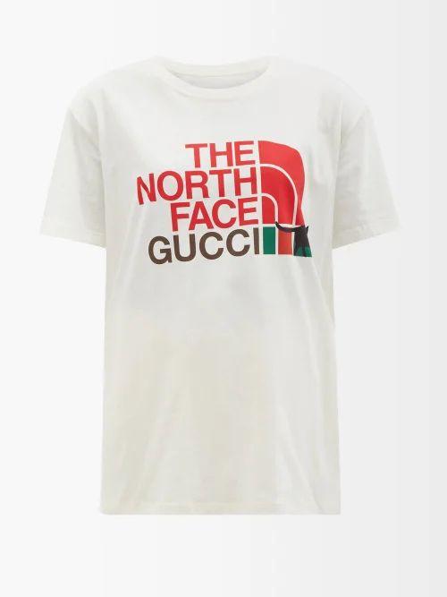 Eckhaus Latta - X Come Tees Lapped Cotton T Shirt - Womens - Grey Multi