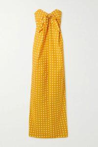 Zeus+Dione - Leto Off-the-shoulder Cotton-blend Gauze Mini Dress - Ivory