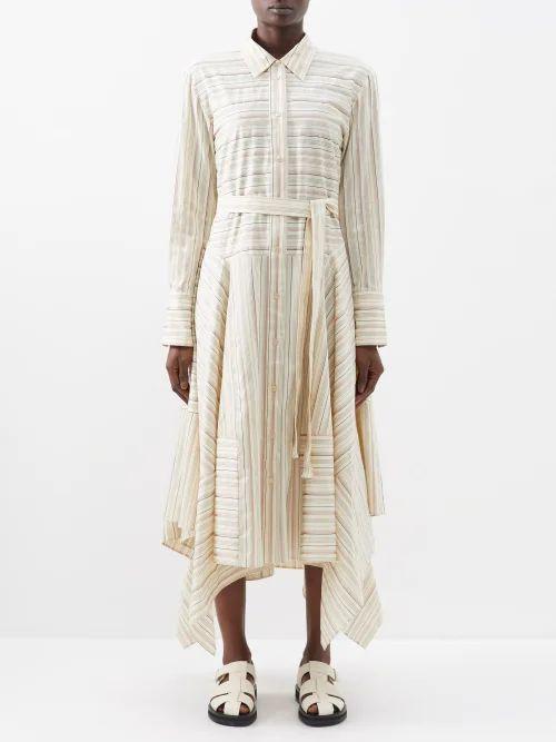Stella Mccartney - Tie Dye Cotton T Shirt - Womens - White Multi