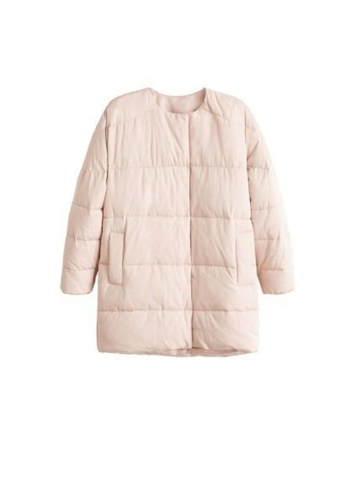 Satin quilted jacket