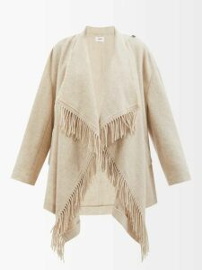 Sies Marjan - Tommie Double Breasted Satin Blazer - Womens - White