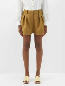 Giuliva Heritage Collection - The Karen Single Breasted Linen Blazer - Womens - Beige Multi