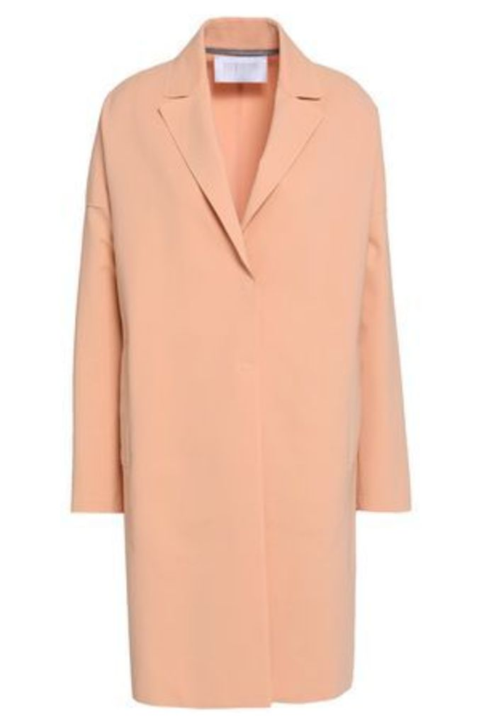 Harris Wharf London Woman Cotton-blend Ponte Jacket Peach Size 42