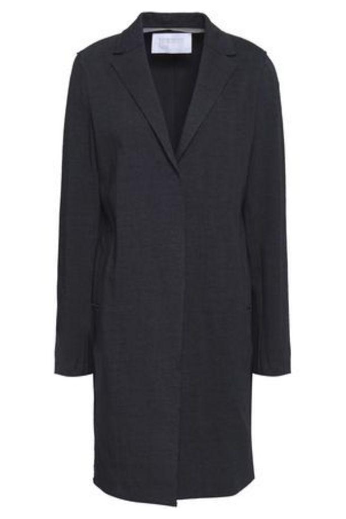 Harris Wharf London Woman Cotton Jacket Midnight Blue Size 44